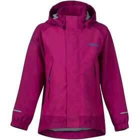 Bergans Knatten Jacket Kids Hot Pink/Cerise/Light Winter Sky